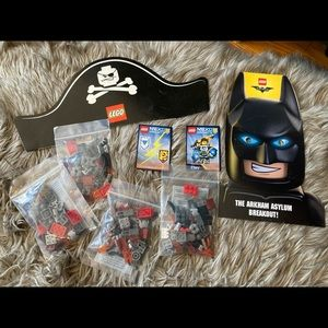 Lego set and other items